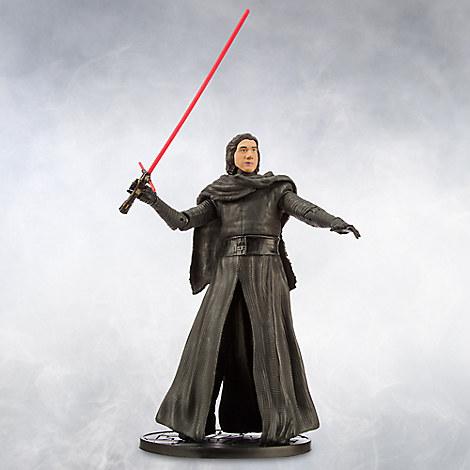 Kylo Ren Unmasked Elite Series Die Cast Action Figure - 7'' - Star Wars: The Force Awakens