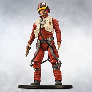 Poe Dameron Elite Series Die Cast Action Figure - 6 1/2'' - Star Wars: The Force Awakens 6101047621893P