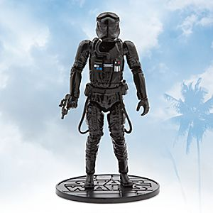 First Order TIE Fighter Pilot Elite Series Die Cast Action Figure - 7 1/4'' - Star Wars: The Force Awakens 6101047621996P