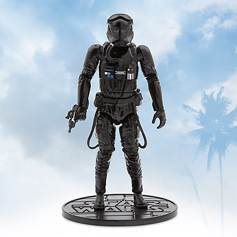 First Order TIE Fighter Pilot Elite Series Die Cast Action Figure - 7 1/4'' - Star Wars: The Force Awakens