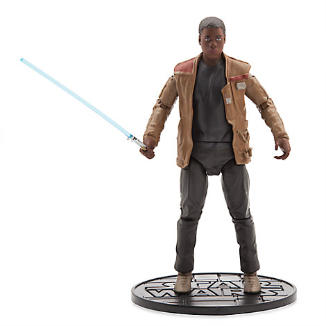 Star Wars: The Force Awakens Finn w/Lightsaber Elite Die Cast Figure