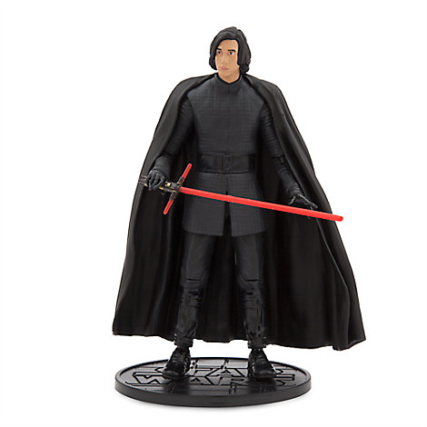 Kylo Ren Unmasked Elite Series Die Cast Action Figure - 7'' - Star Wars: The Last Jedi