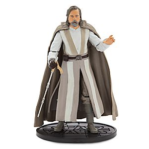 Luke Skywalker Elite Series Die Cast Action Figure - 6'' - Star Wars: The Last Jedi 6101047622208P