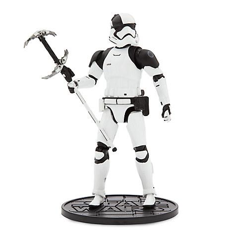 First Order Judicial Stormtrooper Elite Series Die Cast Action Figure - 6'' - Star Wars: The Last Jedi