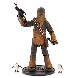 Chewbacca Elite Series Die Cast Action Figure - Star Wars: The Last Jedi 6101047622332P