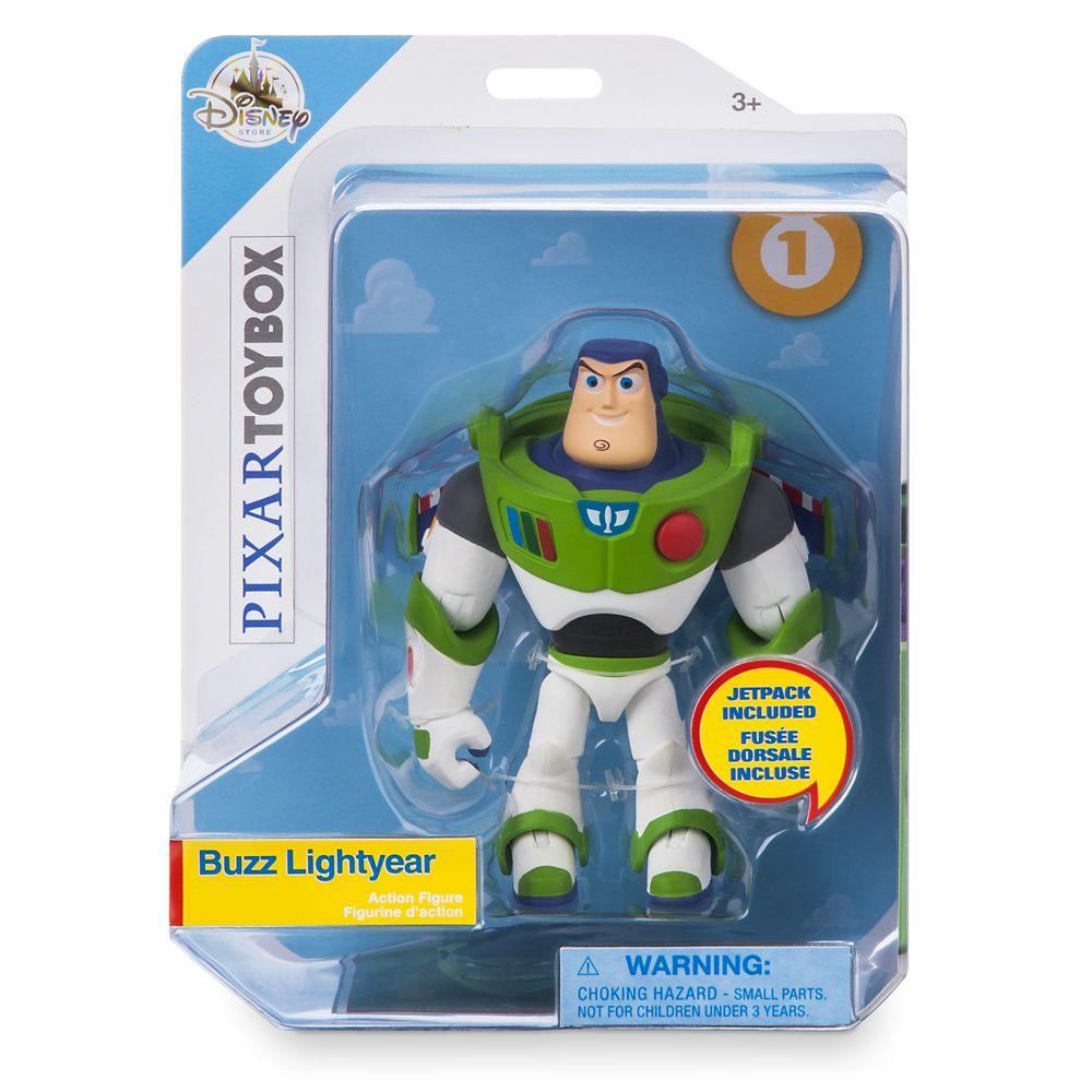 Buzz Lightyear Action Figure – PIXAR Toybox