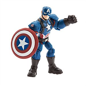 Captain America Action Figure - Marvel Toybox 6101047622448P