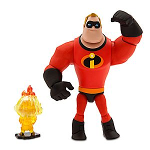 Mr. Incredible and Jack-Jack Action Figure Set - PIXAR Toybox 6101047622529P