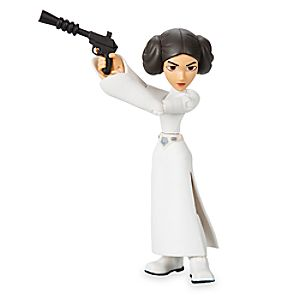 Princess Leia Action Figure - Star Wars Toybox 6101047622540P