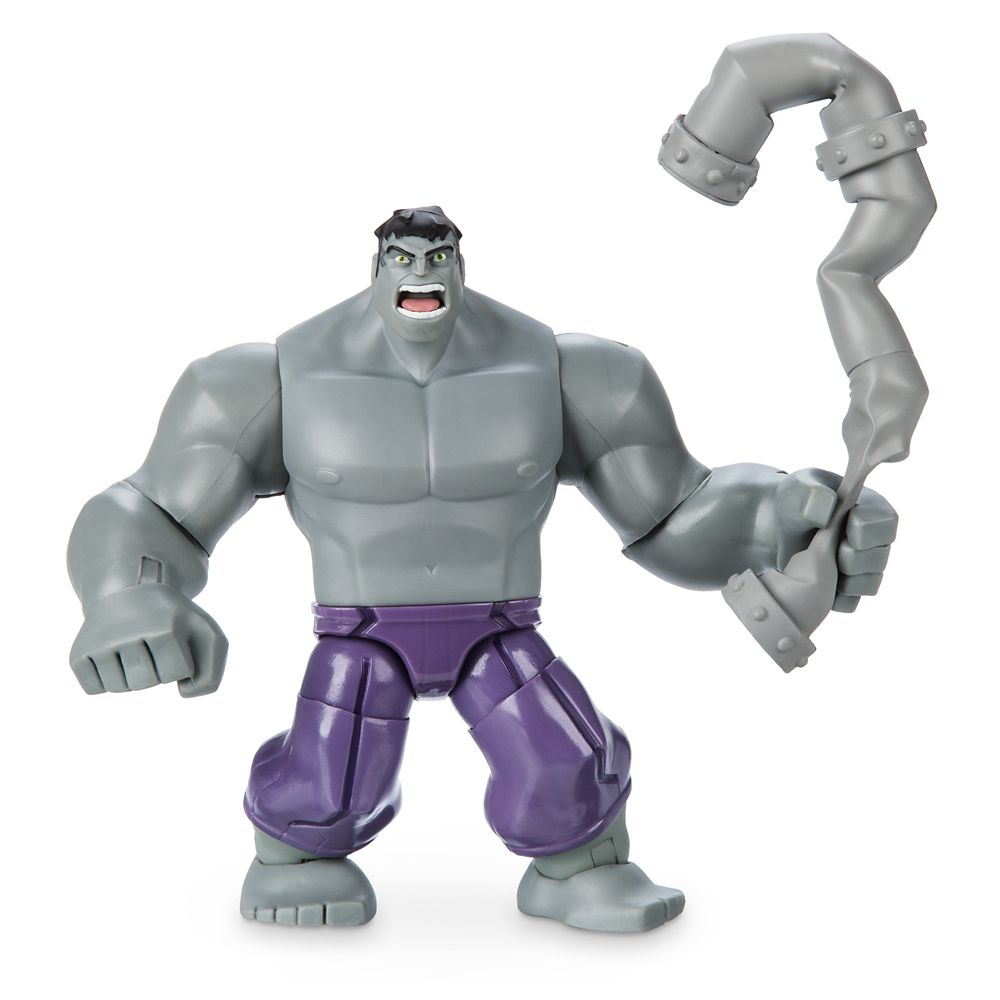Hulk Action Figure – Gray – Marvel Toybox