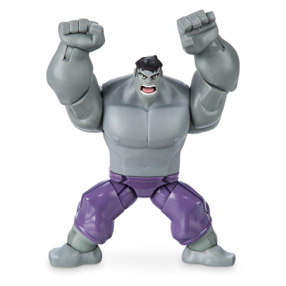 Hulk Action Figure – Gray – Marvel Toybox