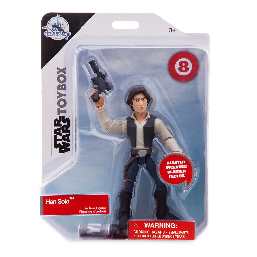 Han Solo Action Figure – Star Wars Toybox