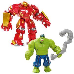 Hulkbuster Deluxe Action Figure Set - Marvel