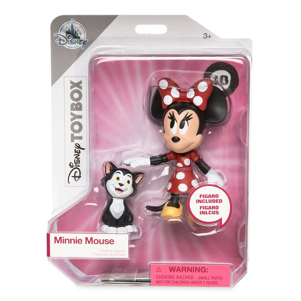 Minnie Mouse and Figaro Action Figure Set – Disney Toybox