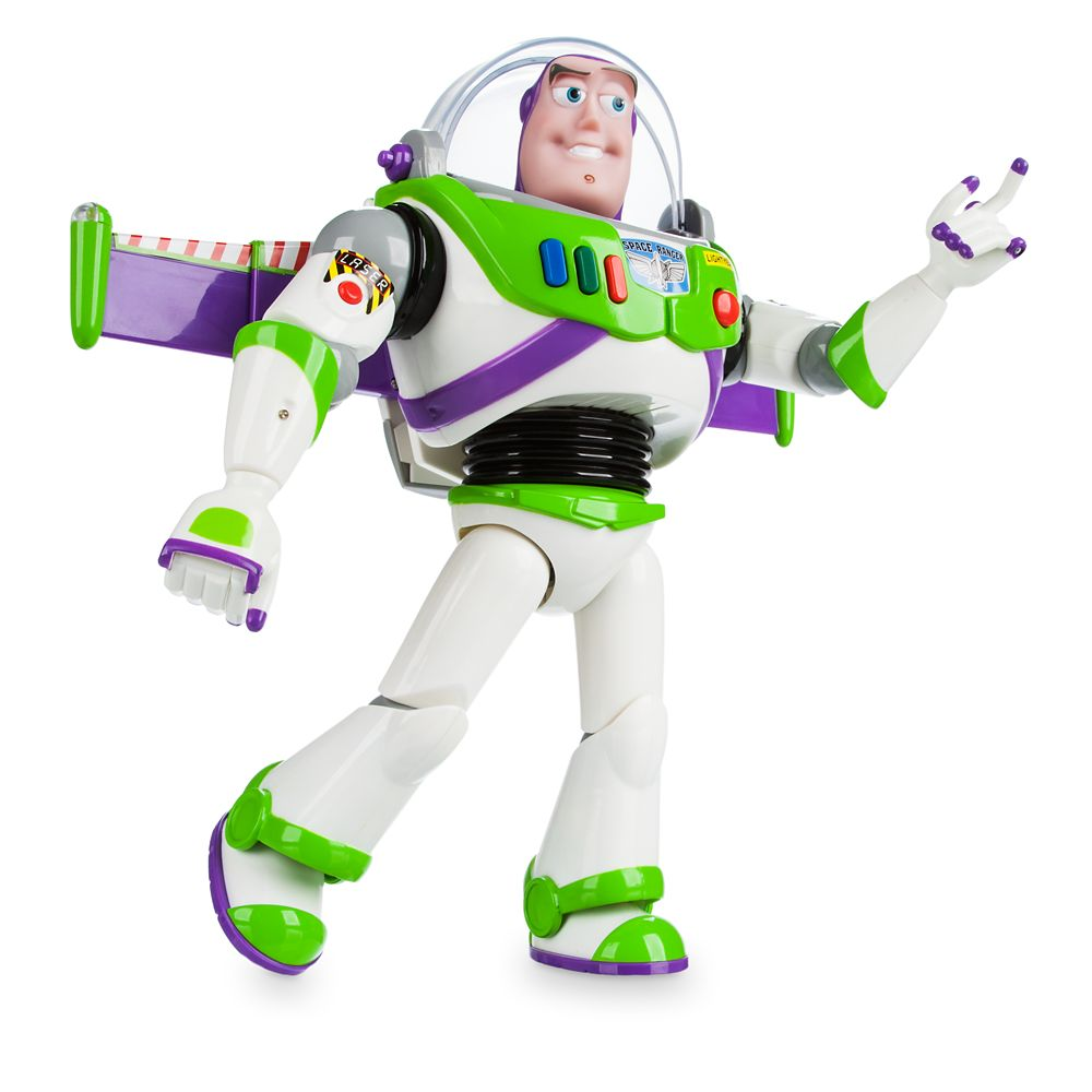 Buzz Lightyear Interactive Talking Action Figure - 12