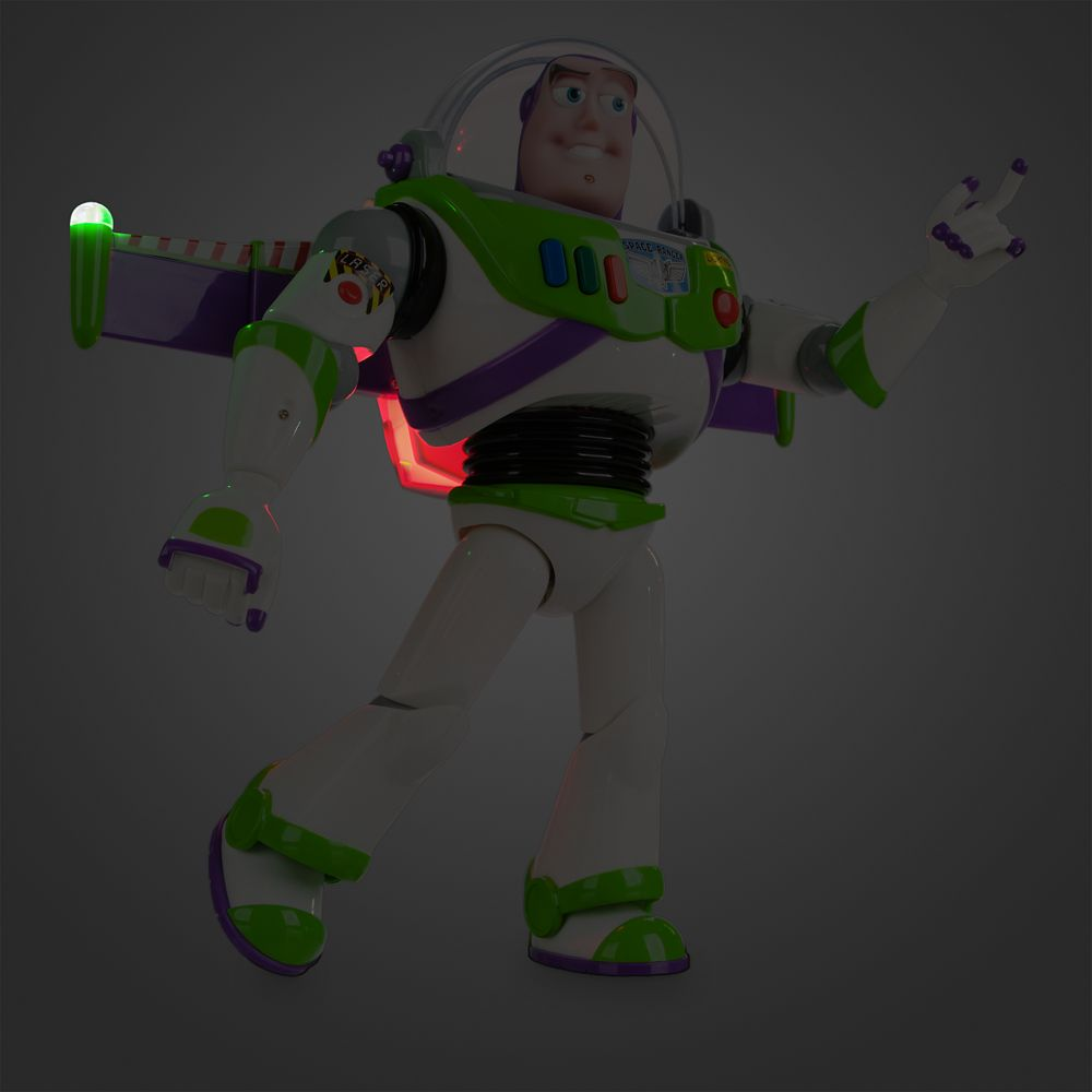 Buzz Lightyear Interactive Talking Action Figure 12