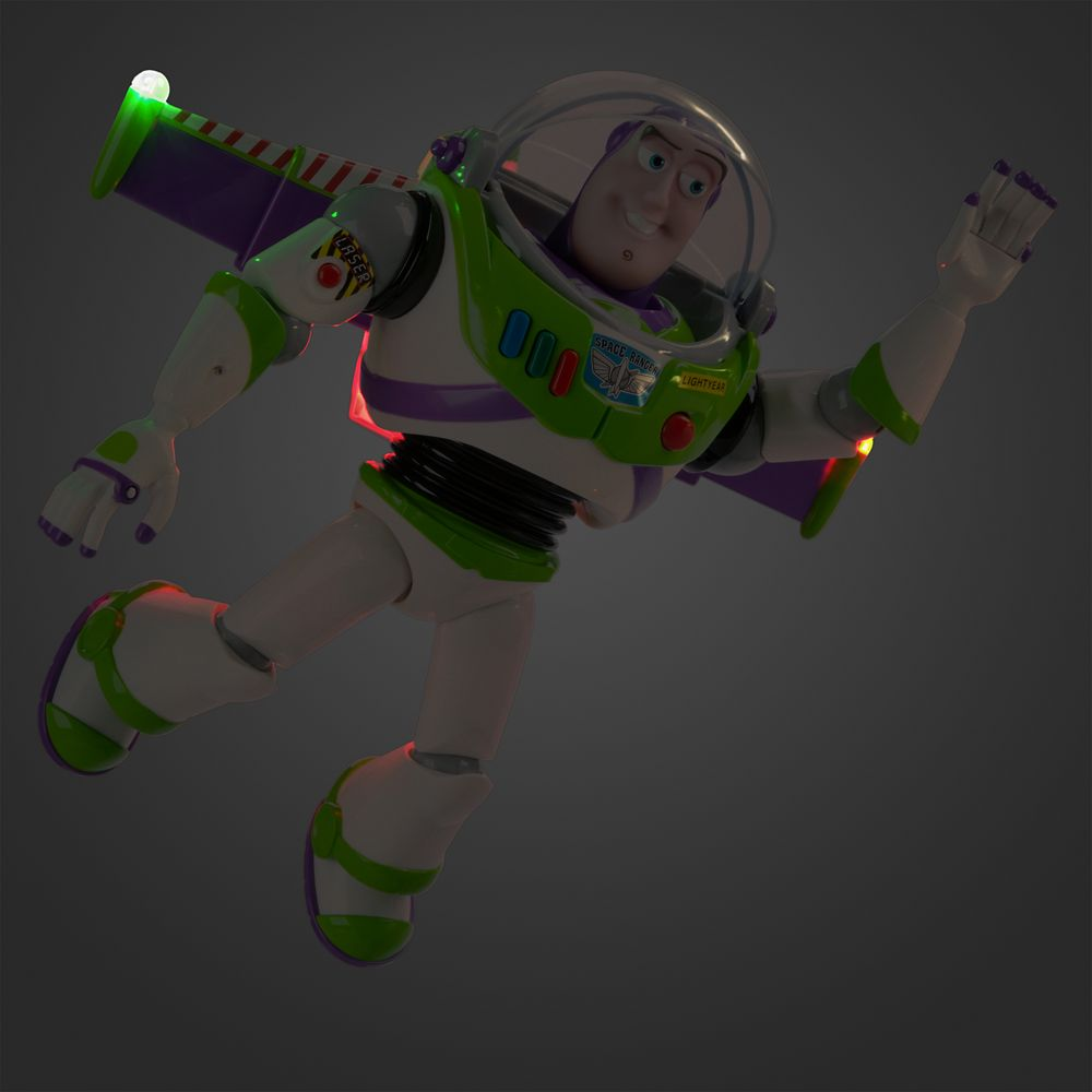 Buzz Lightyear Interactive Talking Action Figure – 12''