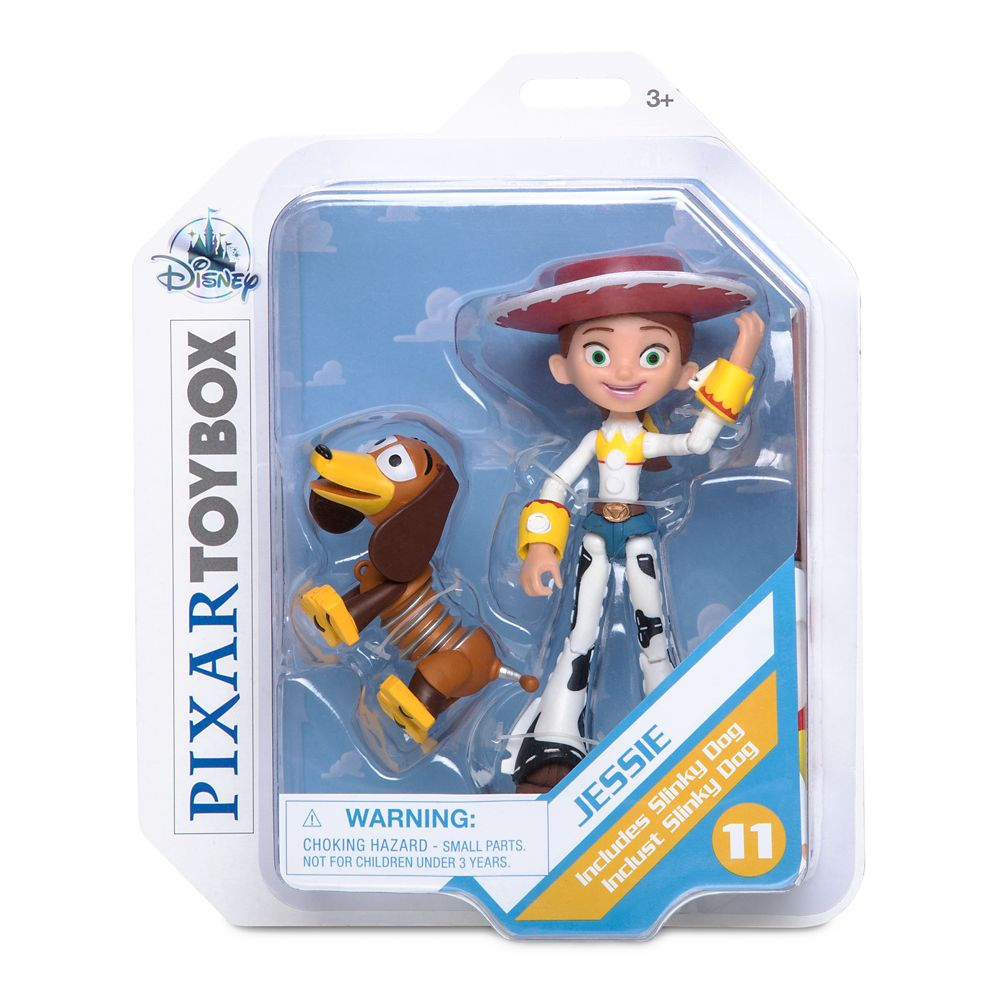 Jessie Action Figure – Toy Story 4 – PIXAR Toybox