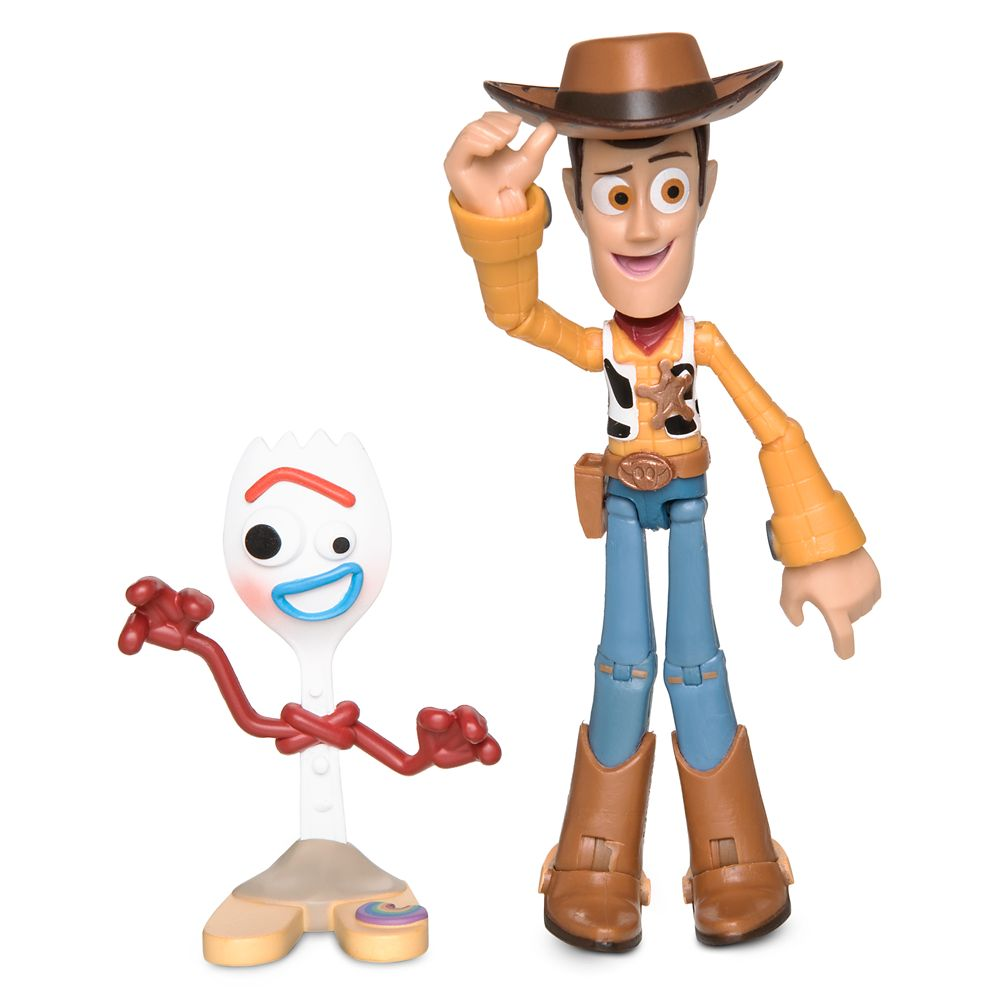 Woody Action Figure - Toy Story 4 - PIXAR Toybox | shopDisney