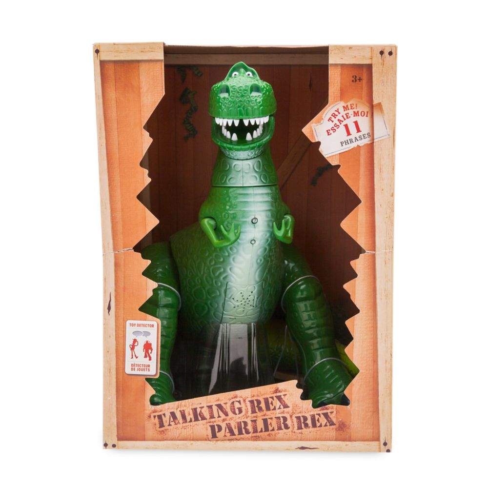 Rex Interactive Talking Action Figure – Toy Story – 12''