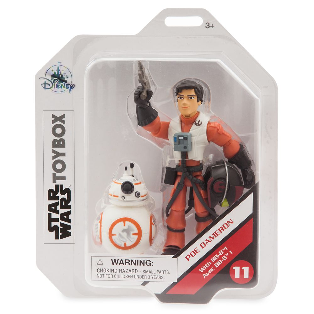 Poe Dameron Action Figure – Star Wars Toybox