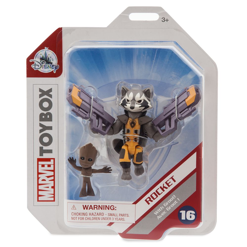 Rocket Action Figure – Marvel Toybox