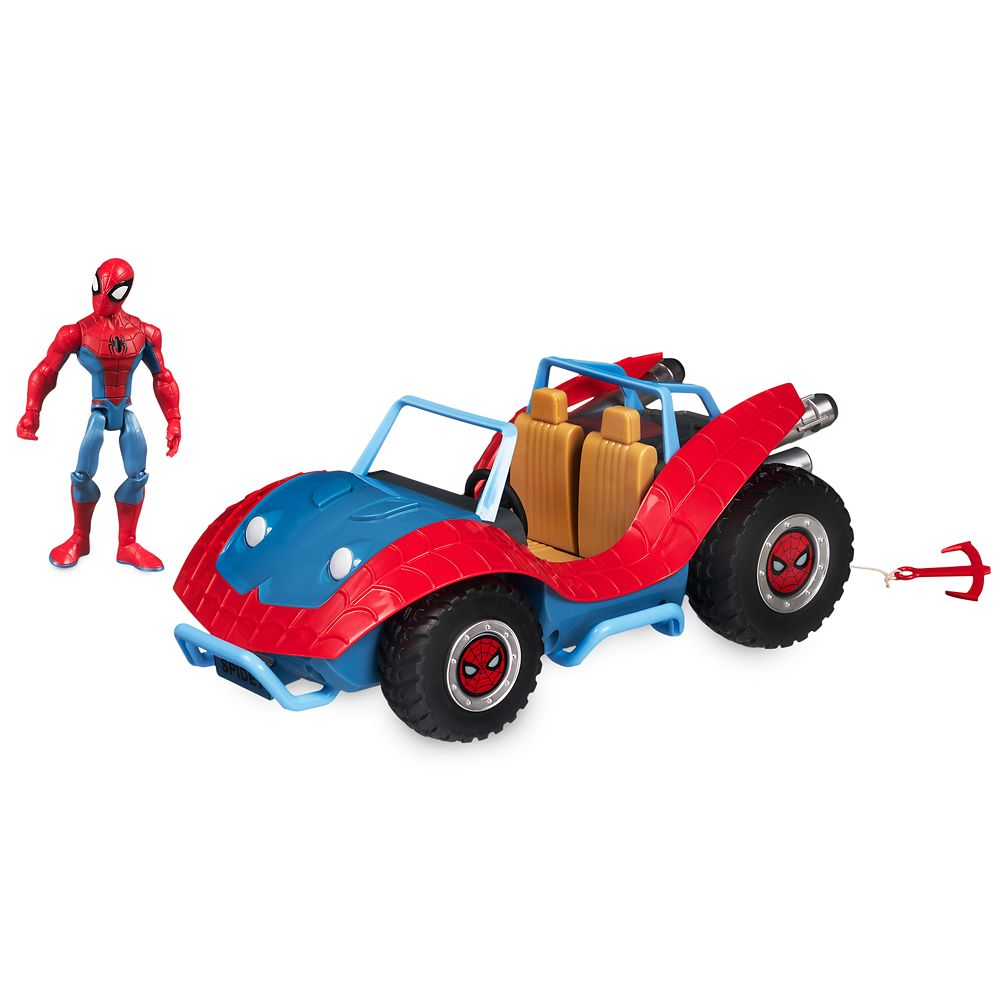 Spider-Man with Spider-Mobile Playset – Marvel Toybox