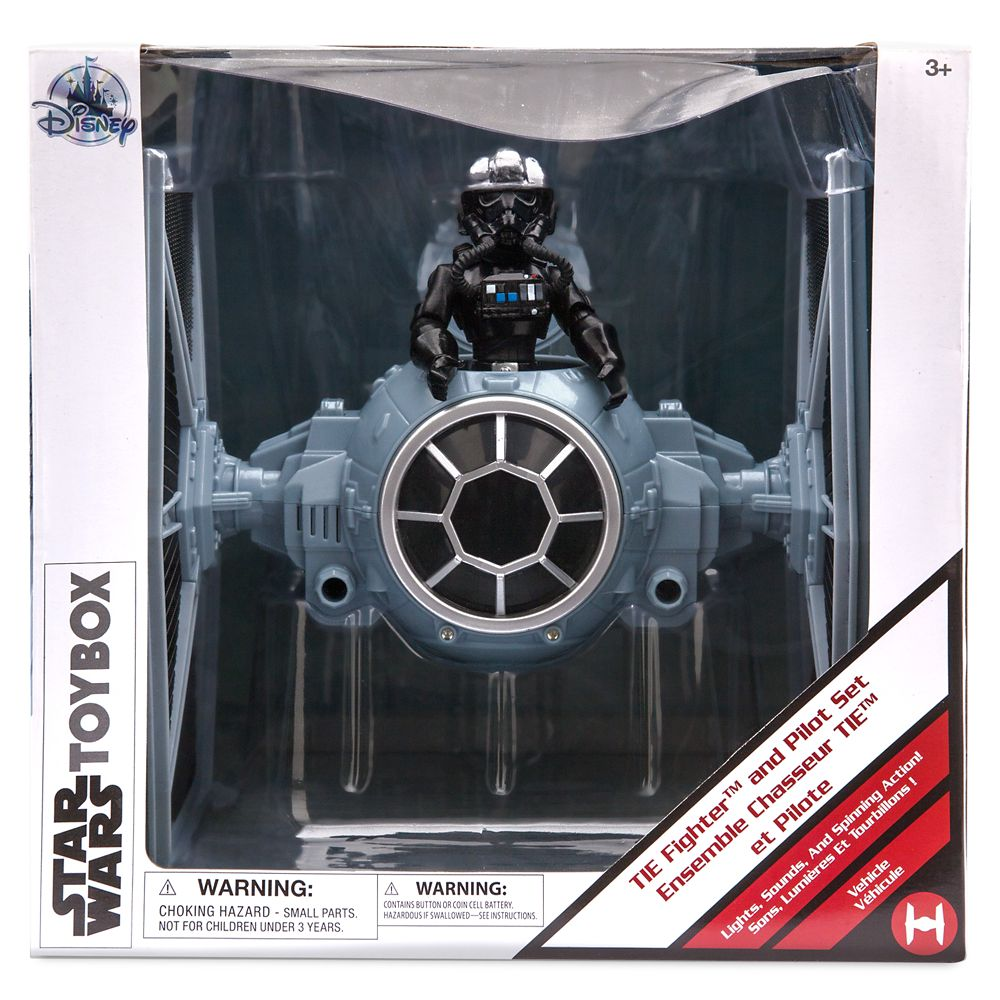 TIE Fighter Play Set – Star Wars Toybox