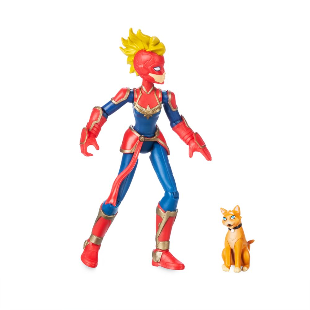 Captain Marvel Action Figure – Marvel Toybox
