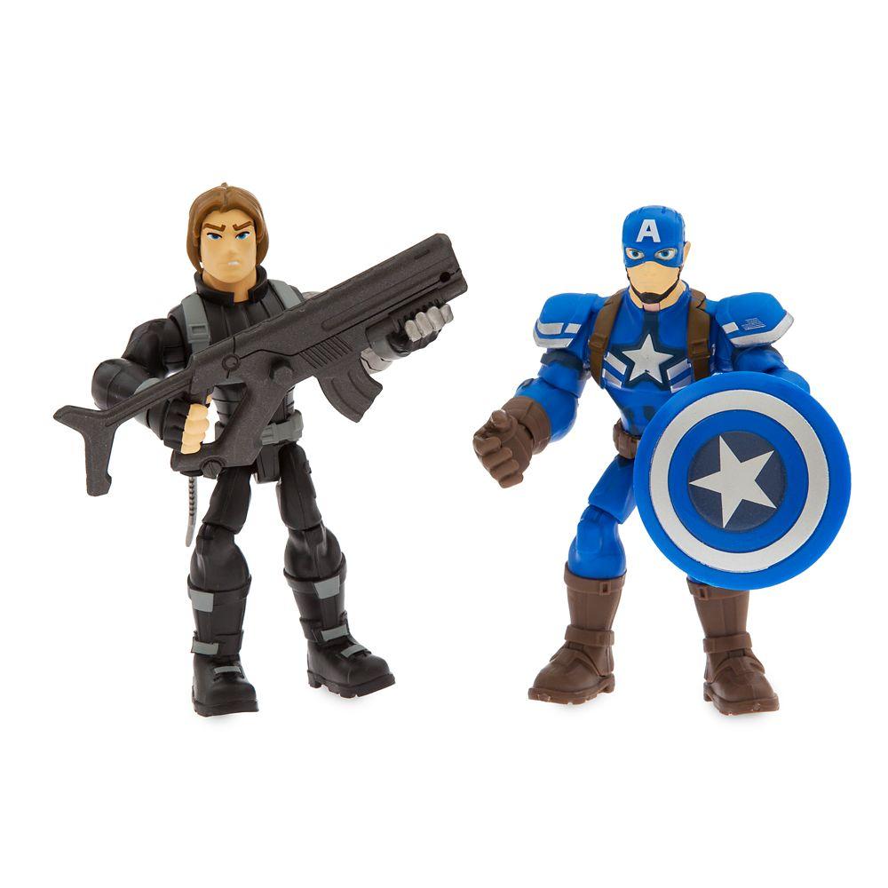 Captain America Motorcycle Set – Marvel Toybox