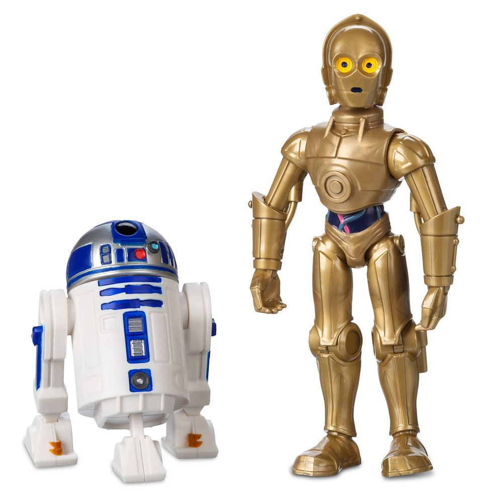 디즈니 '스타워즈' 알투디투 C-3PO 액션 피규어 Disney C-3PO and R2-D2 Action Figure Set – Star Wars Toybox