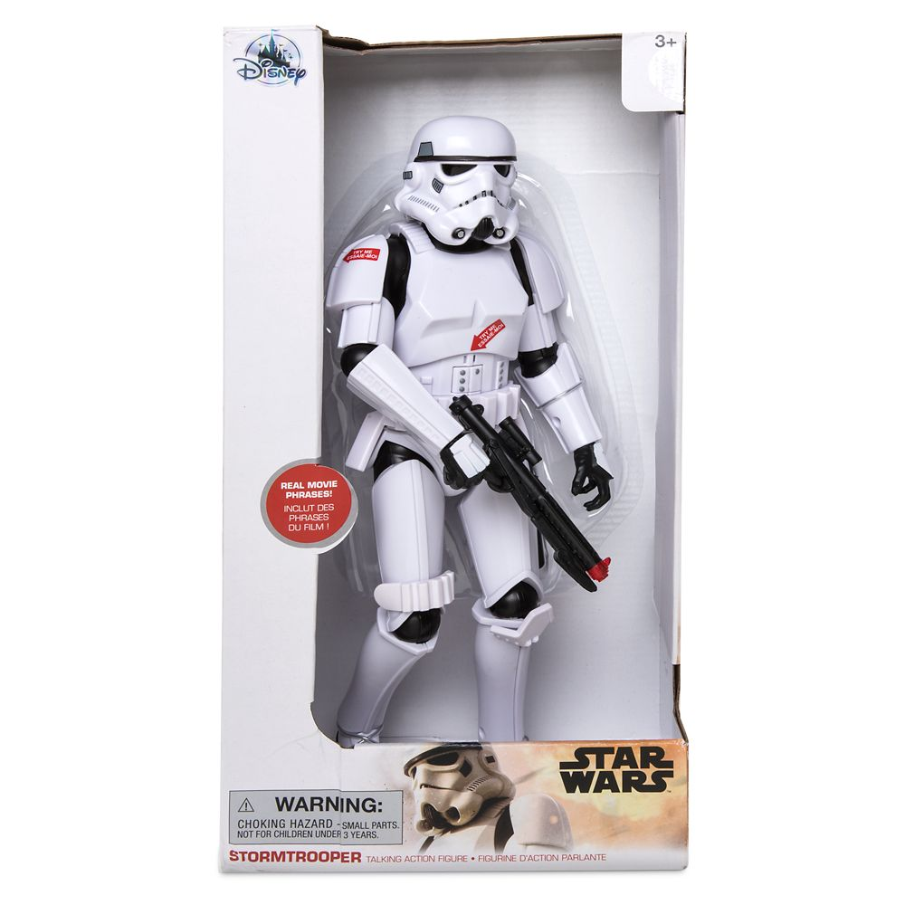 Stormtrooper Talking Action Figure – 13 1/2'' – Star Wars