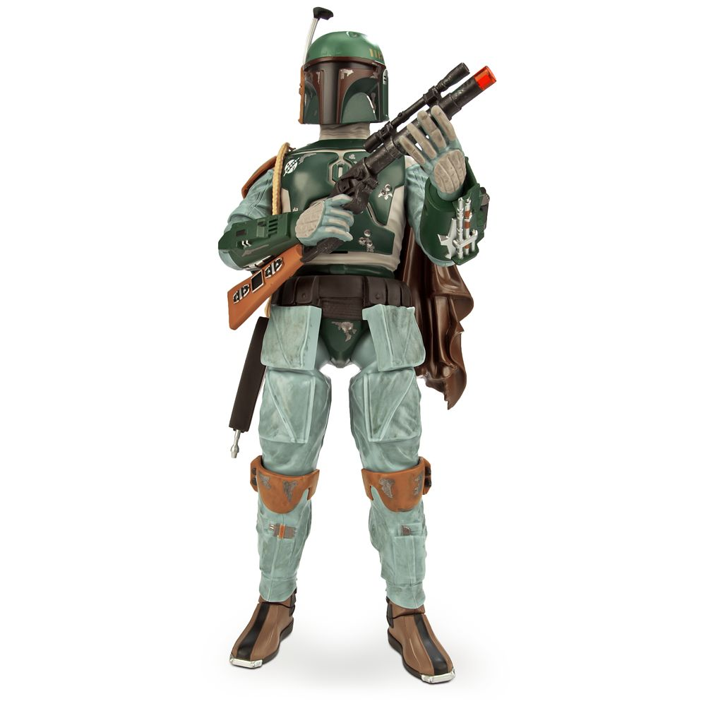 Boba Fett Talking Action Figure 13 1/2'' Star Wars Official shopDisney