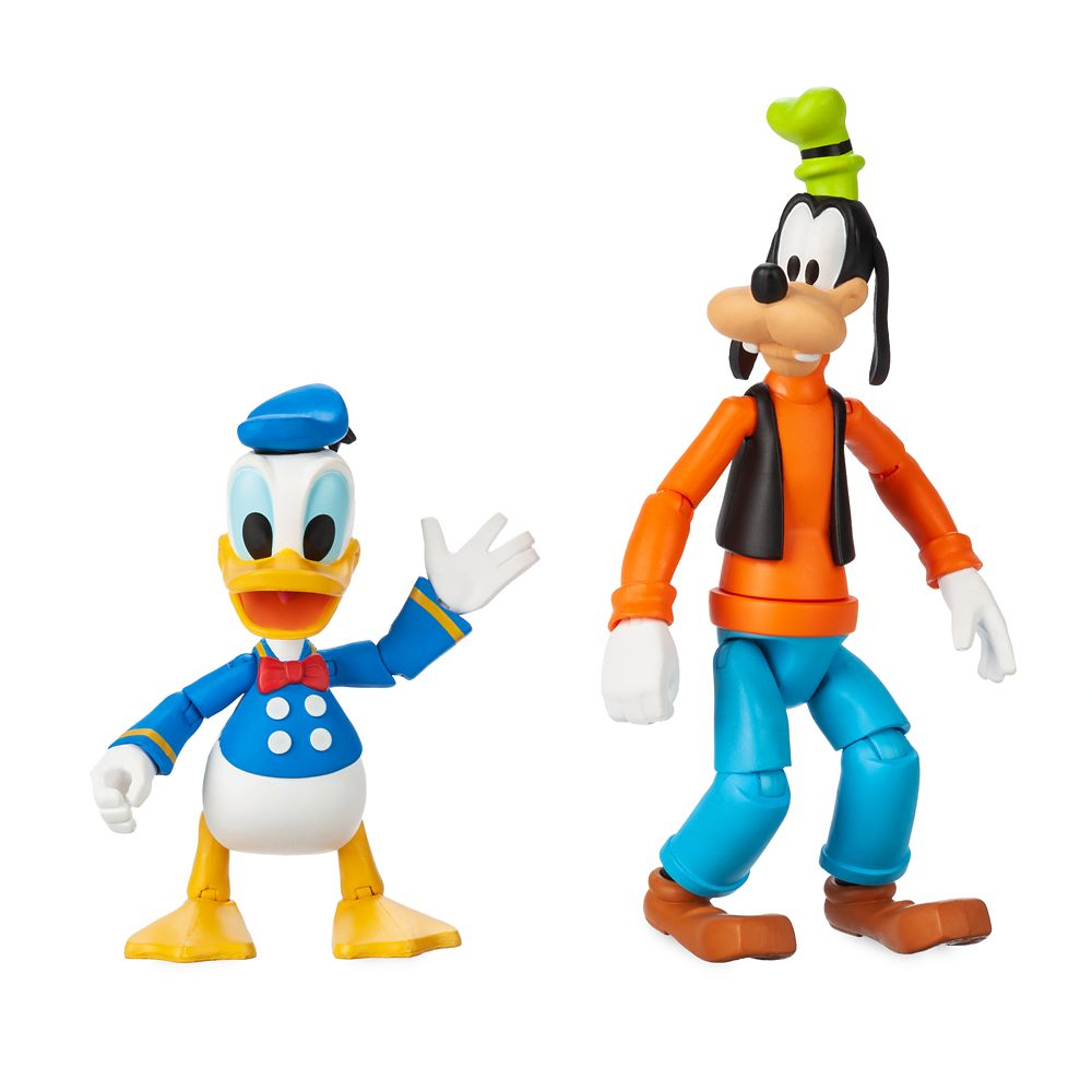 Goofy and Donald Duck Action Figure Set – Disney Toybox