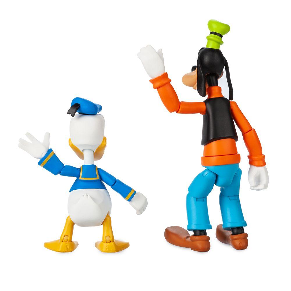 Goofy and Donald Duck Action Figure Set – Disney Toybox