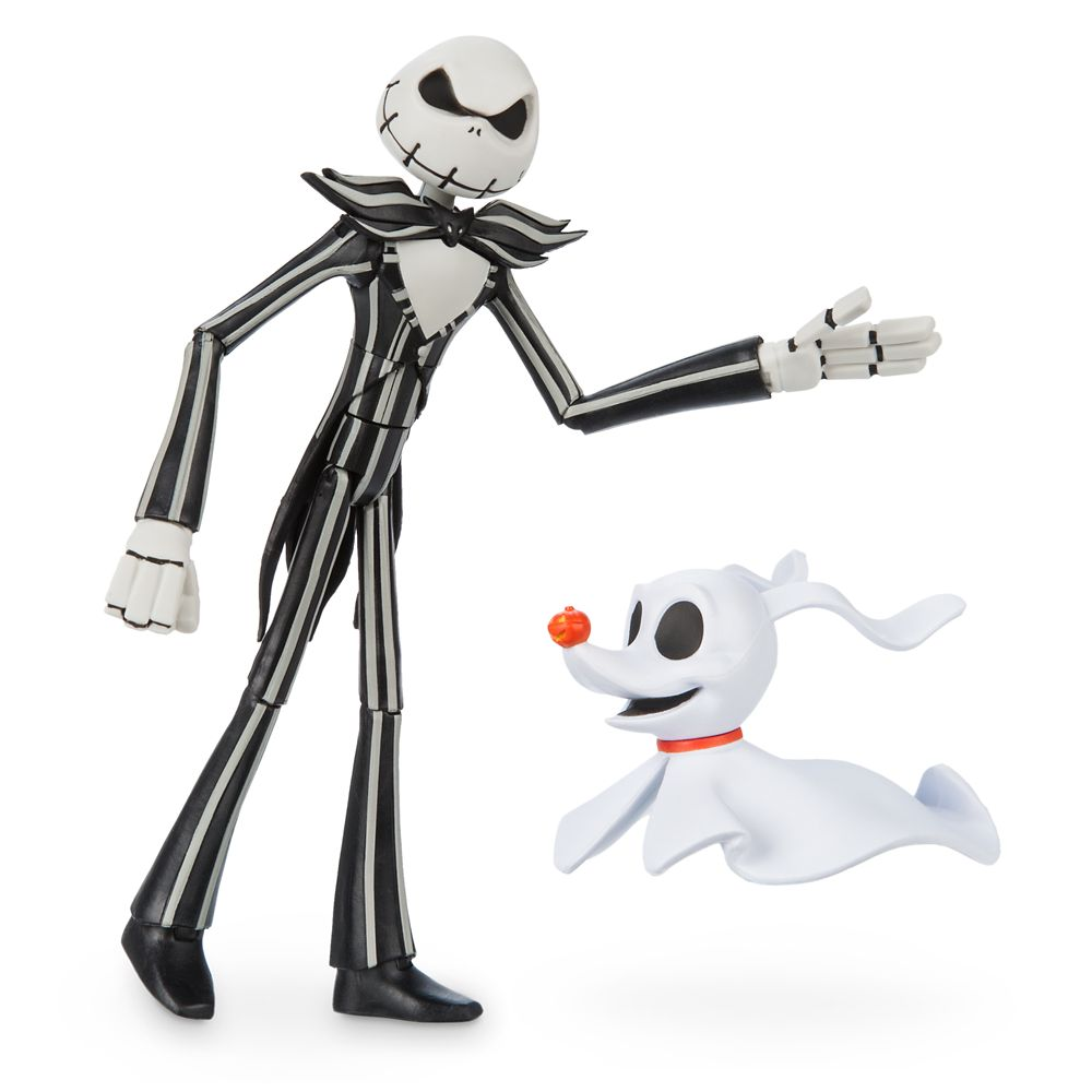 Jack Skellington Action Figure with Zero Set – Disney Toybox