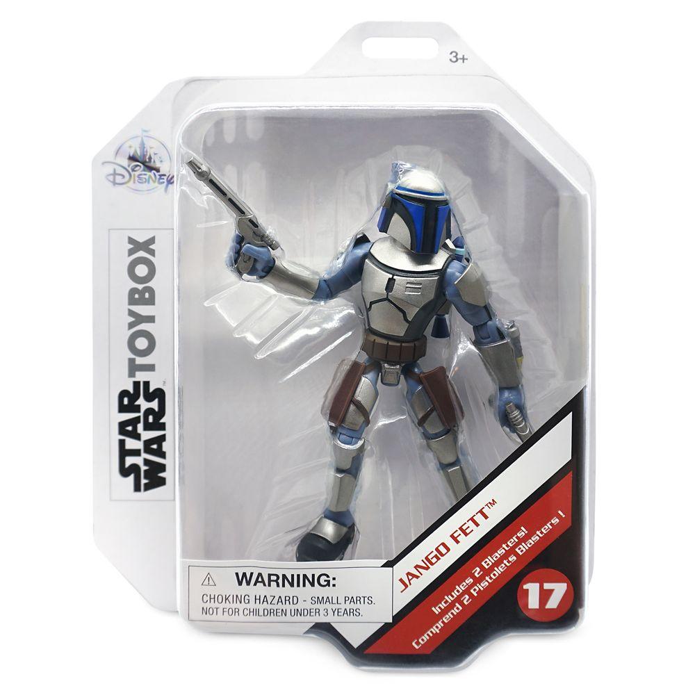 Jango Fett Action Figure – Star Wars Toybox