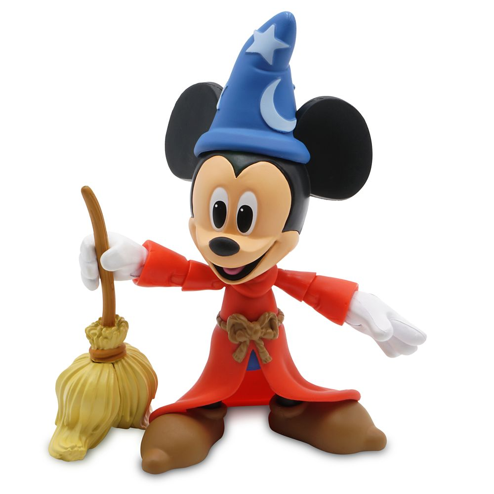 Sorcerer Mickey Mouse Action Figure – Fantasia – Disney Toybox