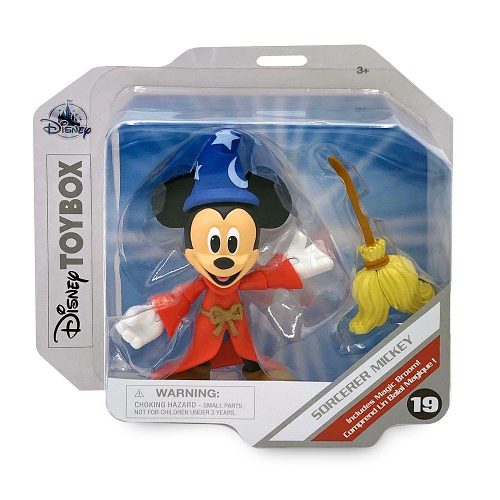 Sorcerer Mickey Mouse Action Figure – Fantasia – Disney Toybox