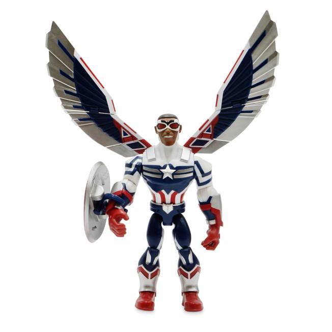 Captain America Sam Wilson Action Figure – Marvel Toybox