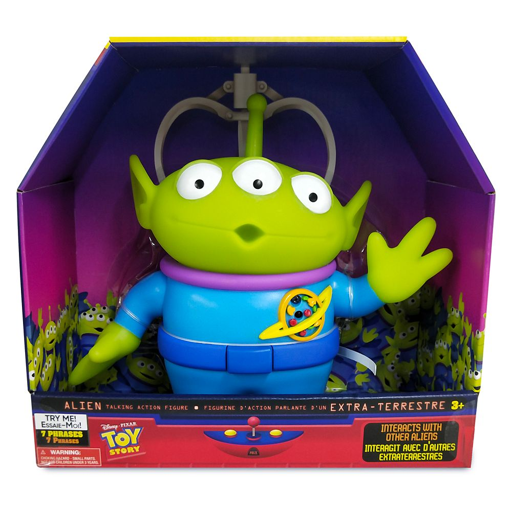 Toy Story Alien Interactive Talking Action Figure