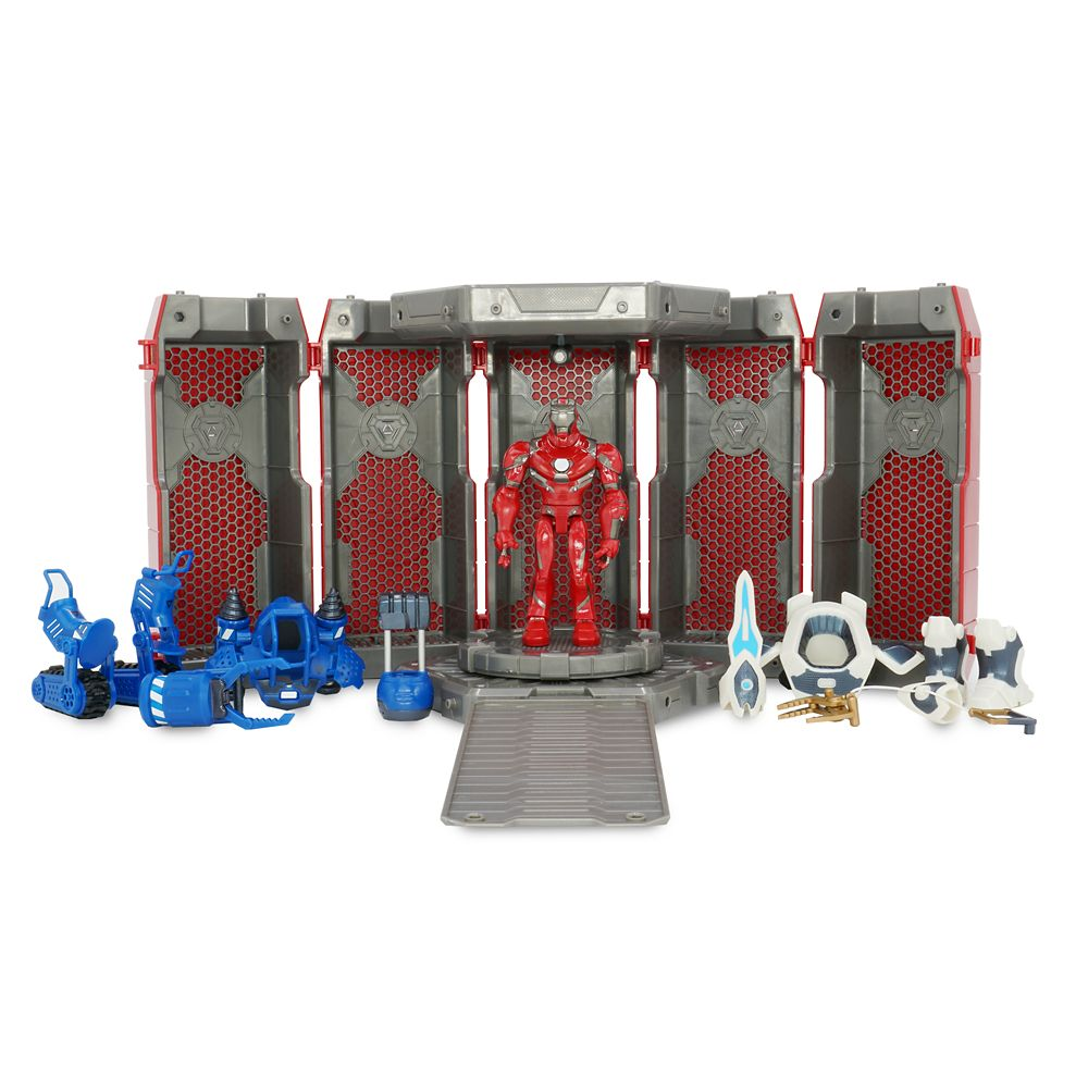 Iron Man Hall of Armor Play Set – Marvel Toybox
