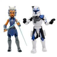 Ahsoka Tano and Captain Rex Action Figure Set – Star Wars Toybox