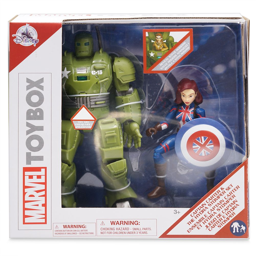 Captain Carter and The Hydra Stomper Action Figure Set – Marvel Toybox