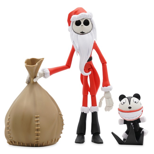 Santa Jack Skellington Action Figure – The Nightmare Before Christmas – Disney Toybox