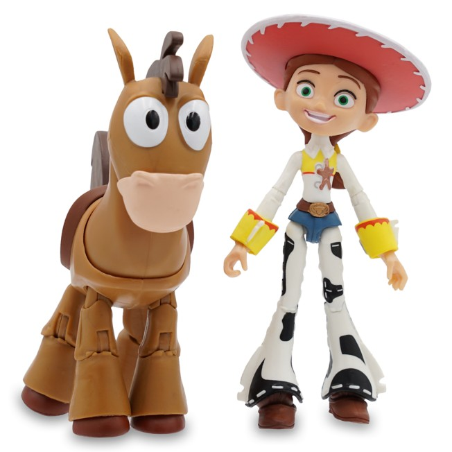 Jessie and Bullseye Action Figure Set – Toy Story 2 – Pixar Toybox