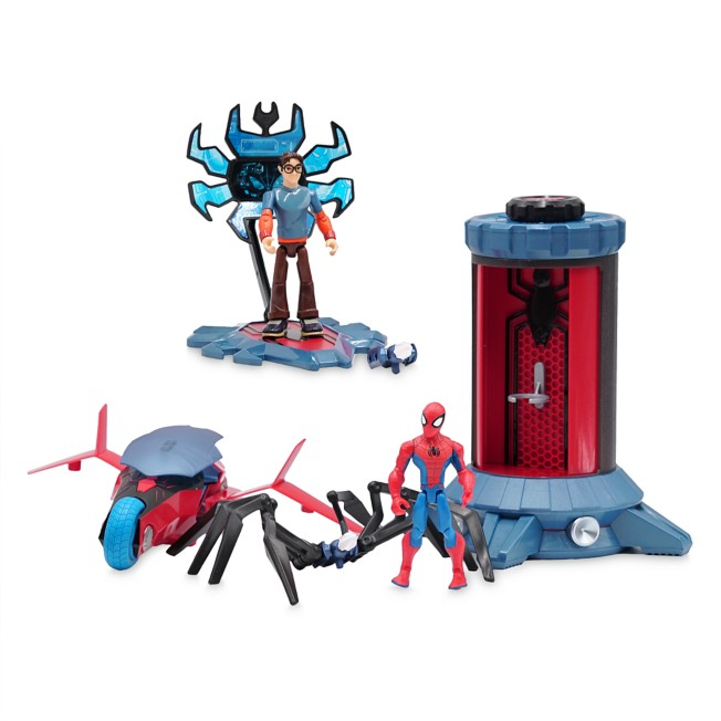 Spider-Man Action Figure and Crime Lab Play Set – Marvel Toybox
