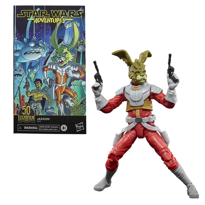 Jaxxon Action Figure – Lucasfilm: 50th Anniversary – Star Wars The Black Series by Hasbro