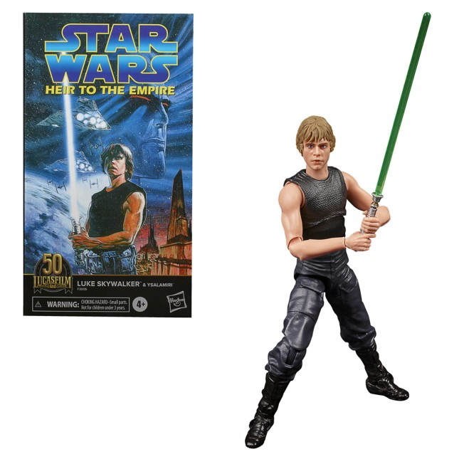 Luke Skywalker & Ysalamiri Action Figure Set – Lucasfilm: 50th Anniversary – Star Wars The Black Series by Hasbro