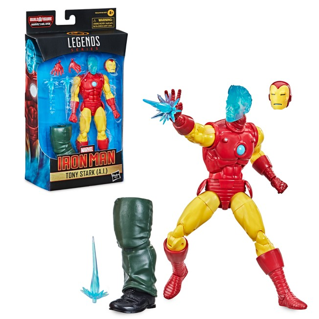 Tony Stark (A.I.) Action Figure – Iron Man – Marvel Legends